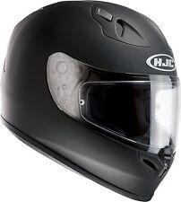 HJC FG-17 Full Face Motorbike Motorcycle Helmet Matt Black XL Plain On Road
