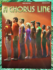 New! A CHORUS LINE Updated Ed Piano Vocal Chords Sheet Music Song Book HL0383312