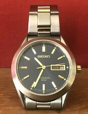 Seiko Titanium 50 M Watch 7N43-0AB0 fonctionnel