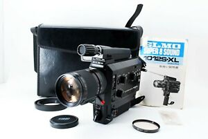 Near MINT ALL Work ELMO 1012S-XL Super 8 Sound 8mm Movie Film Camera Case JAPAN