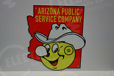 Reddy Kilowatt ARIZONA PUBLIC SERVICE COMPANY DIE CUT SIGN ELECTRICIAN GIFT