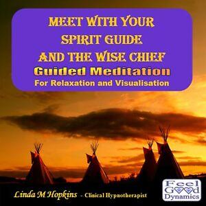 Guided Meditation CD Meet Your Spirit Guide CD - Spirit Guide Meditation CD