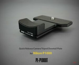 LIM'S Quick Release Camera Tripod Dovetail Plate For Nikon P1000