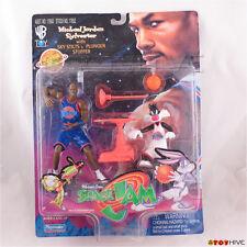 Space Jam Michael Jordan and Sylvester with Sky Stilts & Plunger Stuffer WB worn