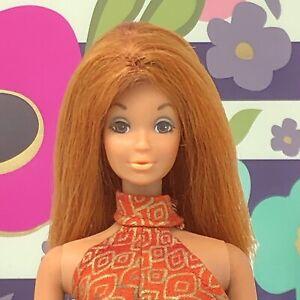 Vintage Barbie Kelley - STUNNING OOAK Doll - Auburn Red Wig - TNT Waist