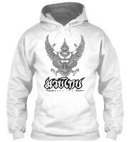 Muay Thai Garuda Fighter Mma Gildan Hoodie Sweatshirt