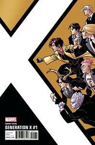 Generation X #1 Variant Kirk Comic 2017 - Marvel Comics - X-Men Mutants Jubilee