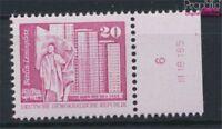 DDR 2485w DV mit Druckvermerk weißes Papier postfrisch 1980 Aufbau in (9233815