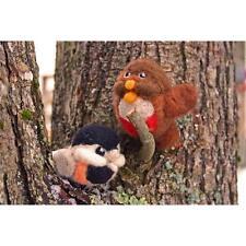 Chickadee Robin 2 Bird Needle Felting Kit Wool Roving Instruction Needles DIY
