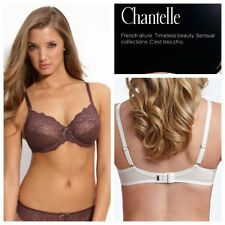 NEW Chantelle 3281 Rive Gauche 3 Part Cup Bra 38D Chocolate Brown Full Coverage
