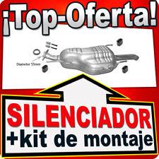 Silenciador trasero OPEL ZAFIRA A 2.0 2.2 DTi 16V 74/86/92KW 02-03 Escape ART