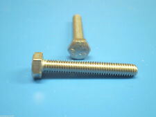 240 acciaio inox Esagonali viti DIN 933 Set di partenza M5 ISO 4017