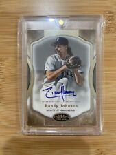 Randy Johnson 2020 Topps Tier One On Card Auto Autograph 16/40