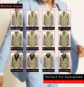 Mens Suit Custom Made to Measure. Design Your Perfect Fit Business Wedding Groom