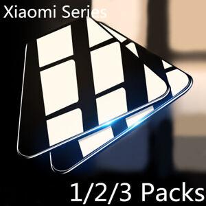 For Xiaomi Redmi Note 9s 8 Pro 8T 8A Mi 10 Pro Full Screen Tempered Glass Cover