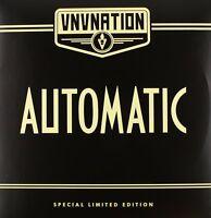 VNV NATION - AUTOMATIC (LIMITED CLEAR DOUBLE VINYL)  2 VINYL LP NEW+