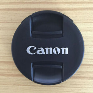 New 55mm For EF EFS EF-M Lens Canon Snap On Lens Cap Cover black protector