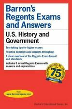 BARRON'S Regents Exams and Answers: U.S. History and Government