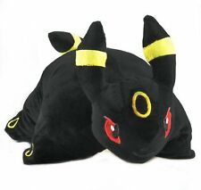 "Pokemon UMBREON Transforming Pillow Pet Solf Cushion - Plush Toy Pillow pet 17"""