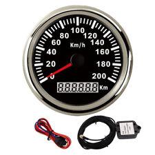 85mm GPS speedometer 200km/h Odometer 9-32V For Car Truck motorcycle Waterproof