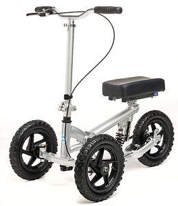 All Terrain KneeRover PRO Knee Walker Steerable Aluminum Knee Scooter