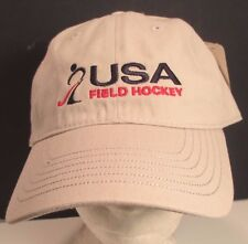 Usa Field Hockey Hat Cap Usa Embroidery Unisex Cotton New
