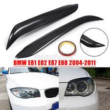 2x Scheinwerferblenden Böser Blick Carbon L+R Für BMW E81 E82 E87 E88  >