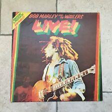 Bob Marley & The Wailers_Live_Vinile LP 33 giri_1975 Island Italy 1st Press
