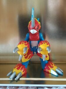 """Digimon Figure - FLAMEDRAMON - 3"""" - Bandai - Digital Monsters"""