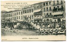 CPA - Carte Postale - France - Cette - Pendant les Joutes - 1915 ( I11675)