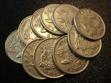 Australian Sterling Sixpence Bulk Lot Silver Coins Christmas Xmas Pudding 10pc