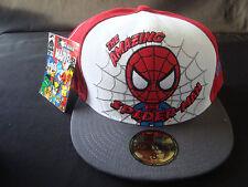 Tokidoki Marvel New Era 59FIFTY Hat 8 White Red Spider-Man NWT