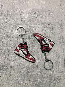 Nike Air Jordan 1 x Off White Chicago Keychain Schlüsselanhänger Sneaker Schuh