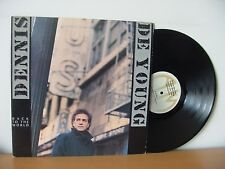 "DENNIS DEYOUNG ""Back To The World"" PROMO LP (A&M SP 5109) Audiophile STYX"
