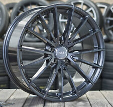 19 Zoll V-Wheels V2 Alu Felgen 5x112 et35 grau für A4 A5 A6 VW Scirocco R S4