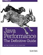 Java Performance: The Definitive Guida di Scott Oaks libro tascabile 97814493