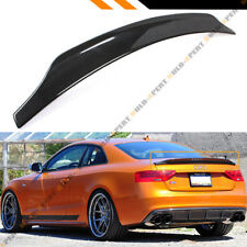 FOR 2009-2016 AUDI S5 RS5 CAT STYLE CARBON FIBER HIGHKICK TRUNK LID SPOILER WING