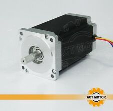 ACT Motor 1PC Nema34 Scrittmotor 34HS5460 4 leads,151mm,6.0A,1700oz CNC CE ROHS