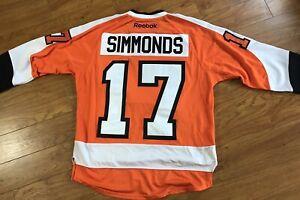 Reebok Philadelphia Flyers Wayne Simmonds Jersey NHL Hockey