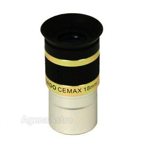"Coronado 1.25"" CEMAX Eyepiece - 18mm for PST & H-Alpha Telescope"