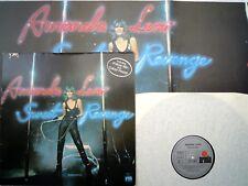 AMANDA LEAR LP - SWEET REVENGE (1), + POSTER & LYRICS, NO BARCODE, KLapp- Cover