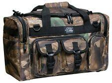 "Medium Gun Gear Range Bag Camo Pistol Ammo Storage Luggage Sport 18"" Duffle New"