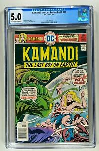 KAMANDI THE LAST BOY ON EARTH #39 CGC 5.0 (DC 1976) JOE KUBERT BRONZE AGE 🔑
