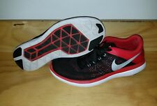 Nike Flex 2016 Running Shoes Mens Sz 10.5 Black Red White 830369-006