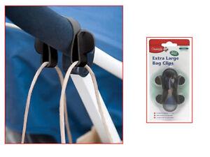 Bag Clips for Pram Buggy Stroller Shopping Bag Hooks(030424)