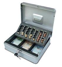 Geld Wert Münz Kassette Tresor Spardose Geldkassette mit Euro-Zählbrett, 90045
