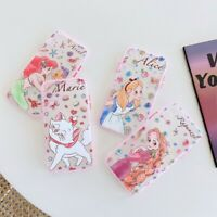 For iPhone 11 Pro XS MAX XR 7 8+ Cute Disney Princess Mermaid Glitter phone case