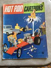 January 1965 No. 2 Hot Rod Cartoons Auto Racing Drag Race Comic Book Car Toons