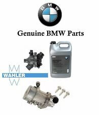 For BMW Electric Engine Water Pump OEM Thermostat 3-Bolt kit & Antifreeze