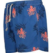 "Herren HAVACOA Swim Shorts Badehose blau Authentic Small NEU UVP £ 95 Boxer M w28"" S"